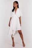 Melody Dress in white