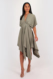 Melody Dress in khaki