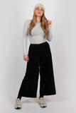 Luxury lounge trouser in black