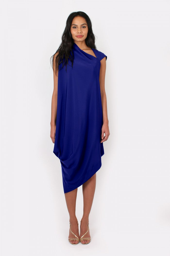 Zoe dress in royal blue