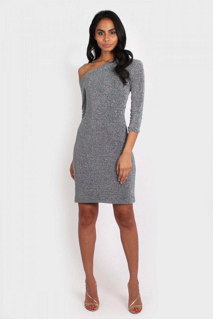 Icon Dress in silver
