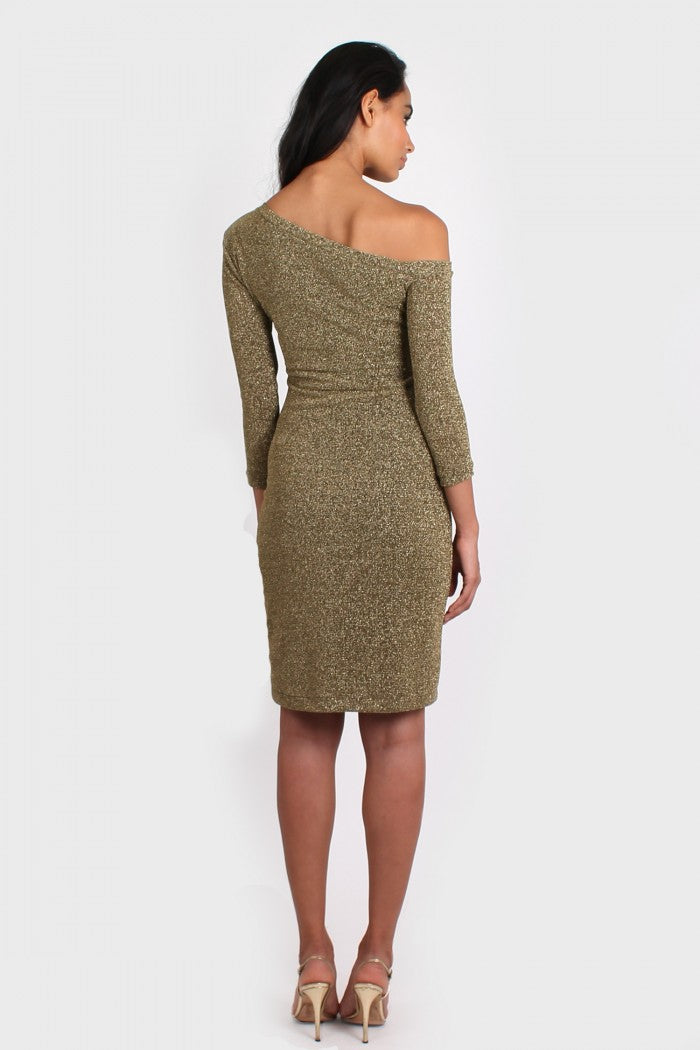 Icon Dress in gold