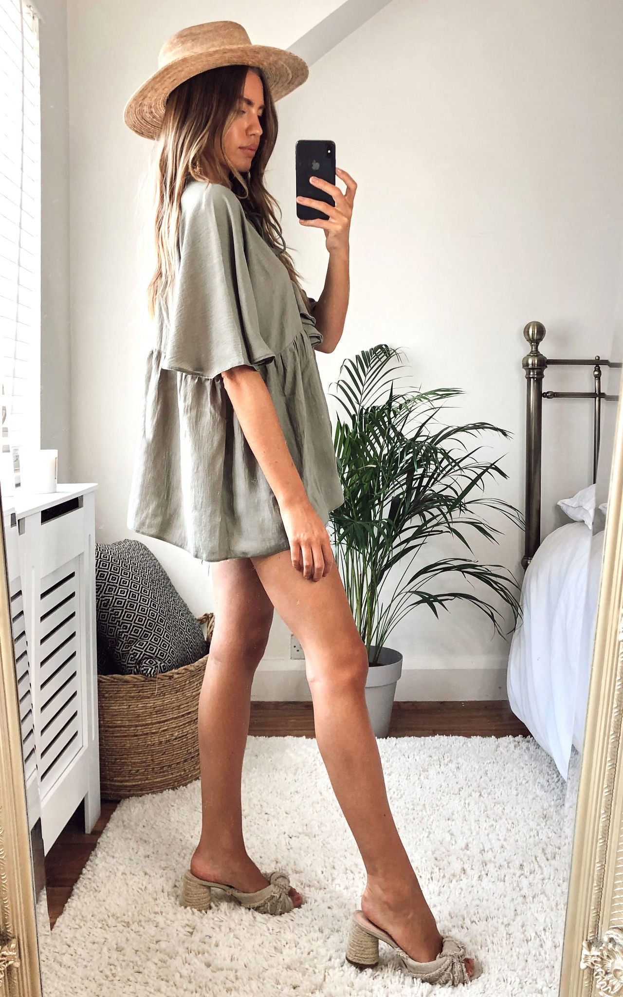 Juliet Blouse in khaki