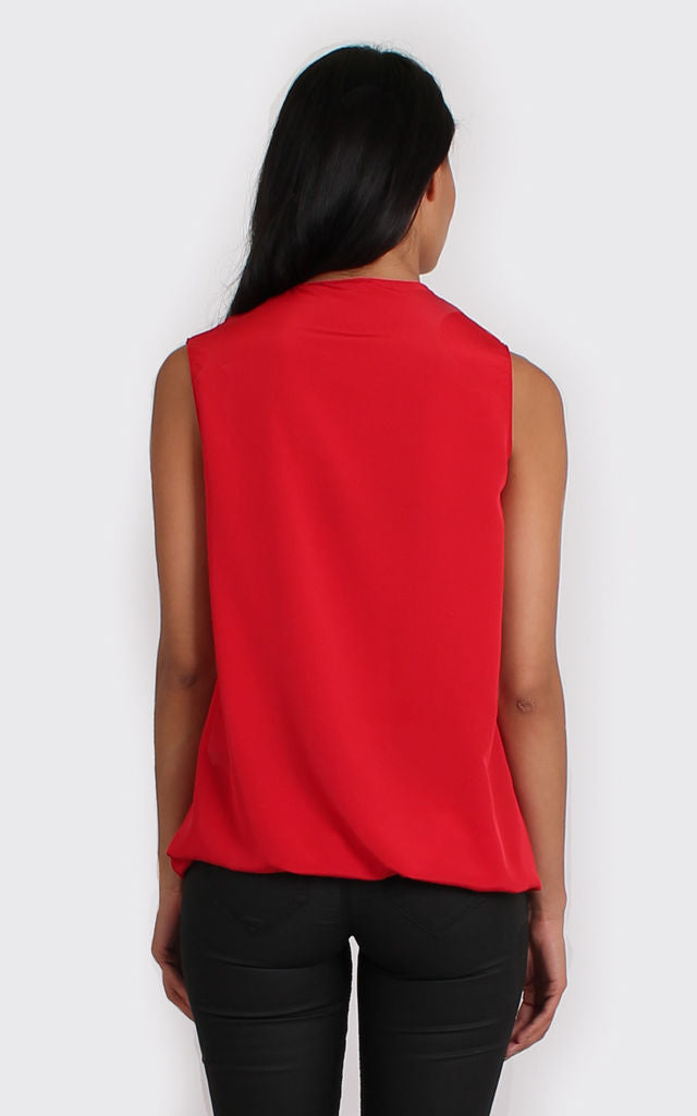 Freya Top in red