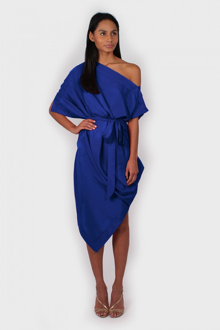 Ava Dress in blue
