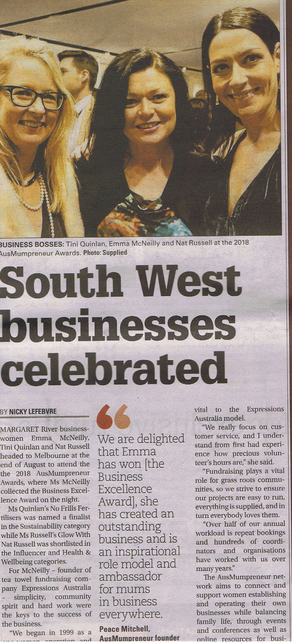 AusMumpreneur Awards: South West women celebrated