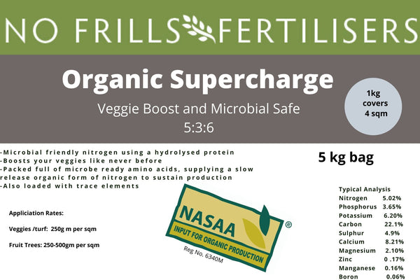 Organic Supercharge