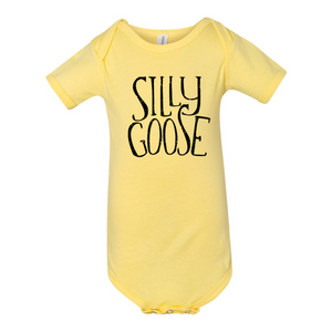 Silly Goose Baby Short Sleeve Onesie