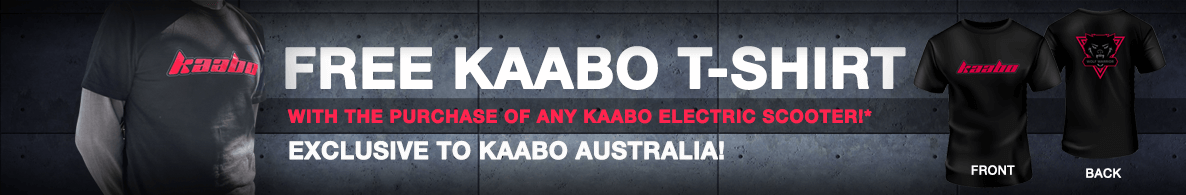 Free Kaabo T-Shirt Offer