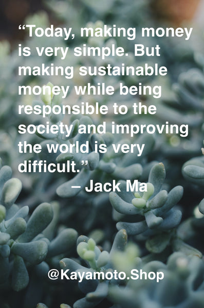 Let's Make Our Money Sustainable
