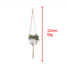 Load image into Gallery viewer, Hand-Woven Cotton Plant Sling Hanger