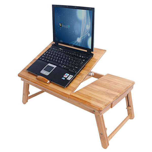 Trendy Adjustable Bamboo Computer Desk