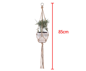Hand-Woven Cotton Plant Sling Hanger