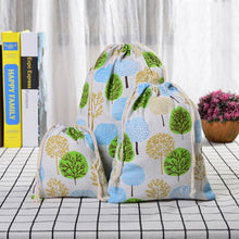 Load image into Gallery viewer, Large Cotton Drawstring Storage Bags