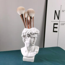Load image into Gallery viewer, 19cm Resin Flower Vase Brush Storage European Decoration Sculptures