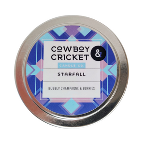Starfall Candle - Bubbly Champagne & Berries - A Court of Thorns & Roses Inspired