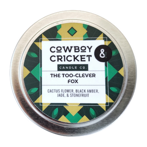 The Too-Clever Fox - Cactus Flower, Black Amber, Jade, & Stonefruit - Grishaverse Inspired