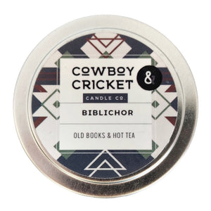 Biblichor Candle - Old Books & Hot Tea
