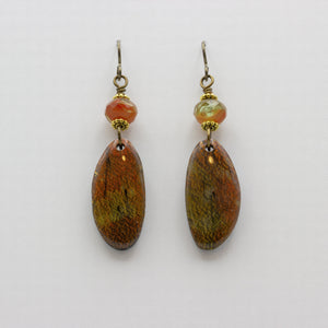 Crackle Earrings