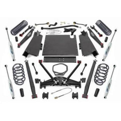4 Inch Long Arm Lift Kit with ES9000 Shocks 97-02 Jeep TJ Wrangler Pro Comp Suspension