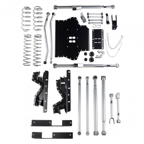 4.5 Inch TJ Lift Kit Extreme Duty Long Arm System No Shocks 03-06 Wrangler TJ/TJ Unlimited Rubicon Express