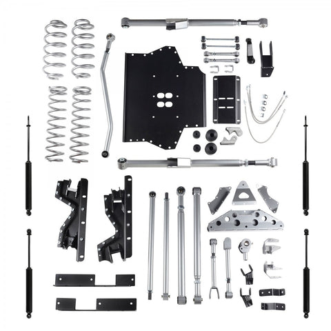 4.5 Inch TJ Tri Link Long Arm W/Twin Tube Shocks 03-06 Wrangler TJ Rubicon Express