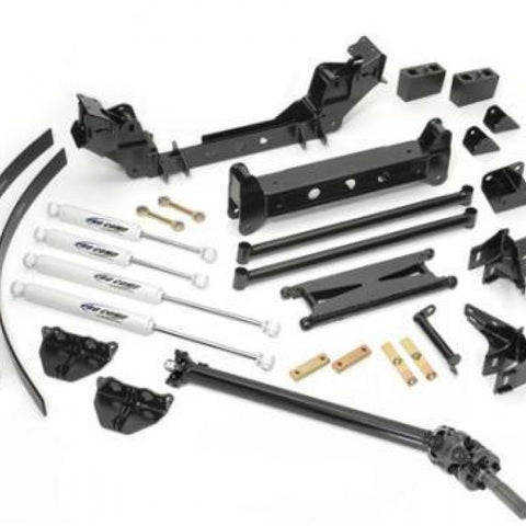 6 Inch Crossmember/Bracket Lift Kit with ES9000 Shocks 99-06 GM 1500 4WD Pro Comp Suspension