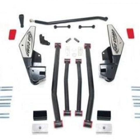 6 Inch Long Arm Lift Kit with Pro Runner Shocks 09 Dodge Ram 2500 4WD Pro Comp Suspension