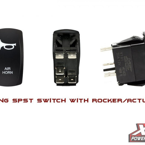 Air Horn Rocker Switch