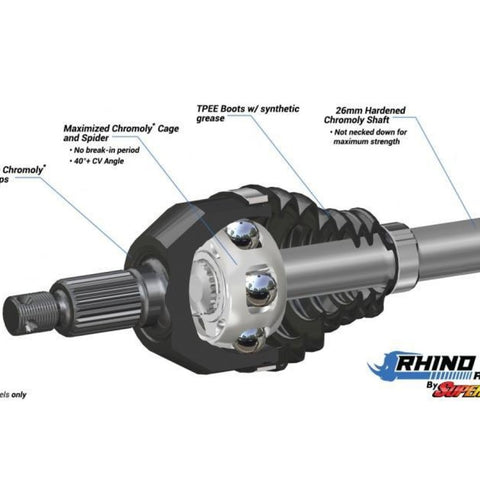 Can-Am Defender Big Lift Kit Axles - Rhino 2.0