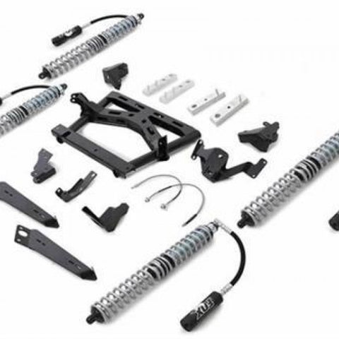 JK Long Arm Coilover Kit 4 Link No Airbumps Extreme Duty 07-18 Jeep Wrangler JKU 4 Dr Rubicon Express