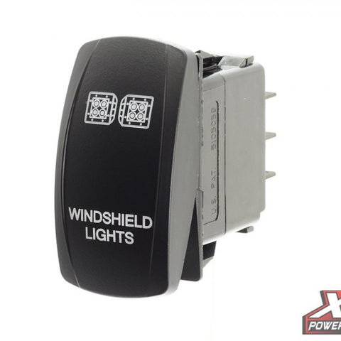 Windshield Lights Rocker Switch