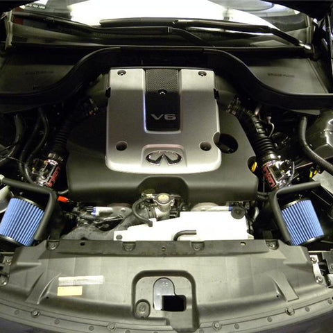 Injen 12 Infiniti G25 2.5L V6 Dual Polished Short Ram Intake w/ MR Technology