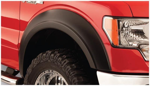 Bushwacker 72-80 International Scout II Extend-A-Fender Style Flares 2pc - Black - MST Motorsports