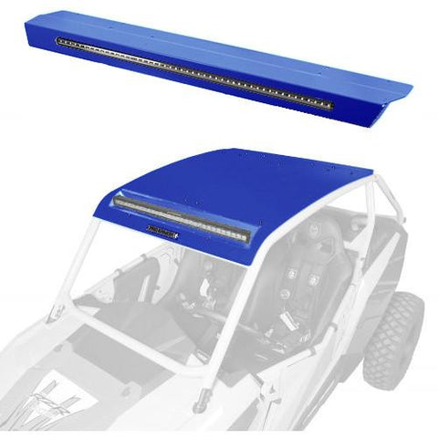 Pro Armor Asylum Roof With W/ Integrated Rear Light-Bar - Rzr Xp 1000/900