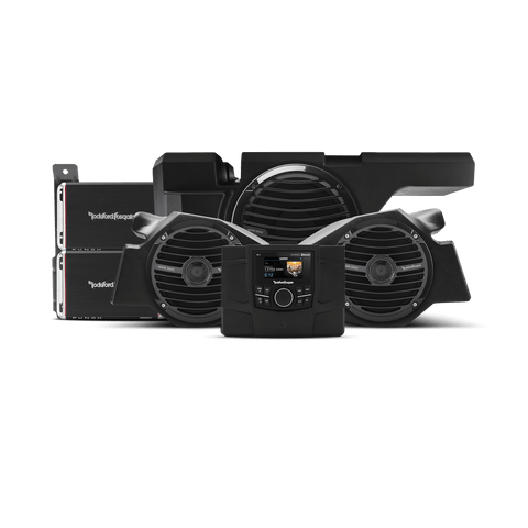 600 Watt Stereo, Front Speaker And Subwoofer Kit For 2014-2018 Polaris® Rzr® Models - MST Motorsports