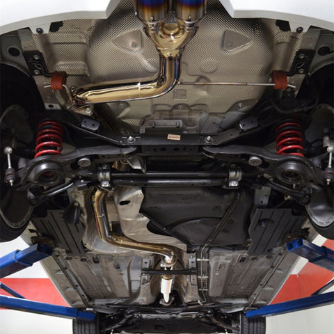 Injen 13--19 Ford Focus ST 2.0L (t) 3.00in Cat-Back Stainless Steel Exhaust System w/Titanium Tip