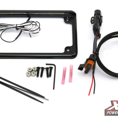 "RZR XP 2015+ Plug & Play® Power Adapter with 6"" 6 LED License Frame - MST Motorsports"