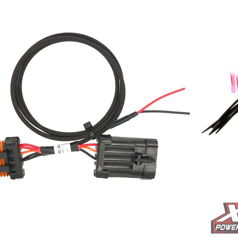 RZR XP Plug & Play® Power Out License Plate & Whip Light - Plugs into Rear LED Tail light - MST Motorsports