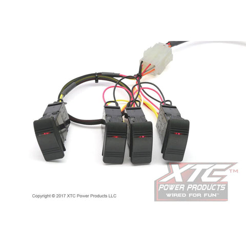 RZR XP Plug & Play™ 4 Switch Power Control System - PCS-44-NS - MST Motorsports