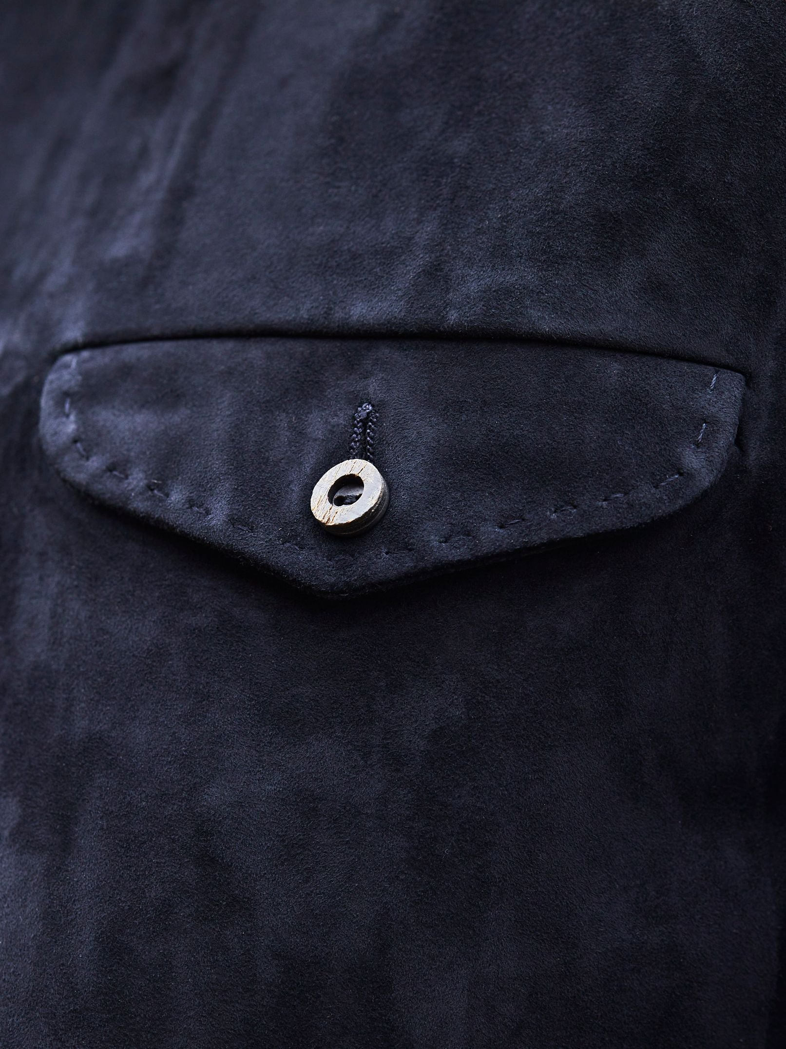 Pick Stitch on pocket flap
