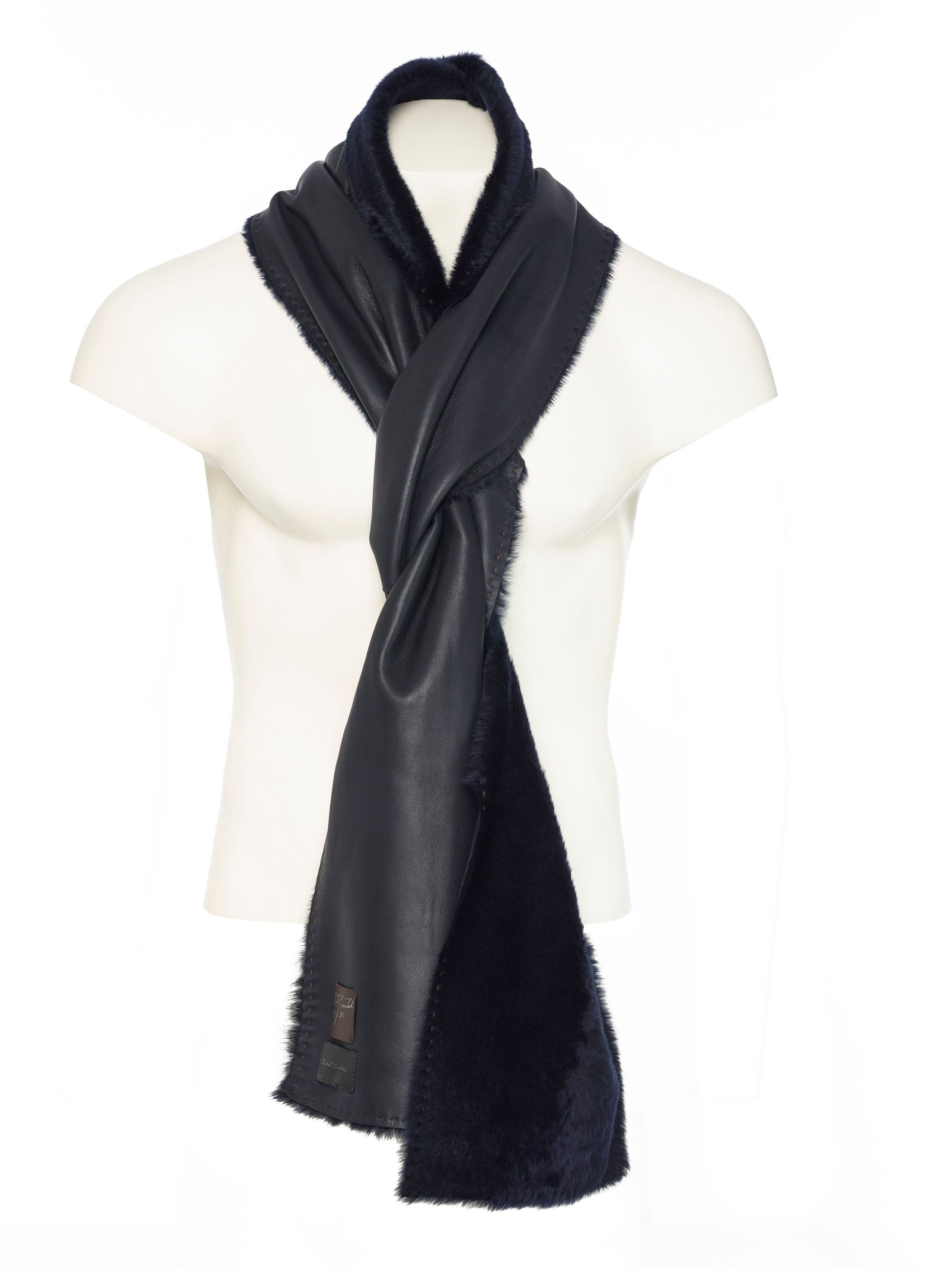 With the softest touch imaginable methods of wearing the piece are limitless