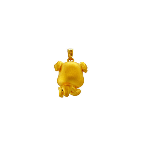 24K Gold Year of the Pig Pendant