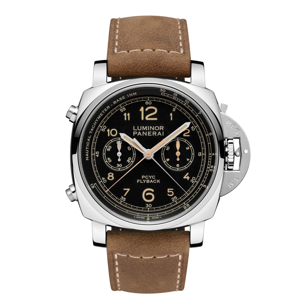 Panerai Luminor 1950 PCYC 3 Days Chrono Flyback Automatic Acciaio - 44mm - Timepiece - CH Premier Jewelers