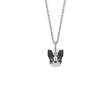 Qeelin Wang Wang Small French Bulldog Pendant
