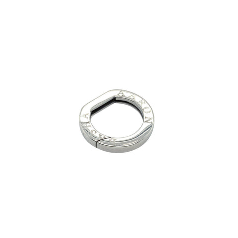 Aaron Basha 18K White Gold Round Clasp - LSP100A - CH Premier Jewelers