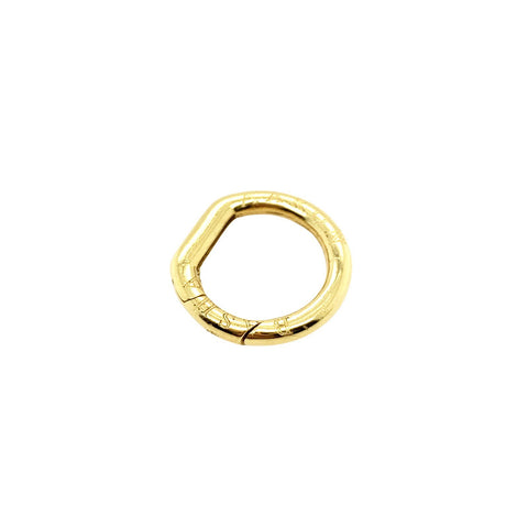 Aaron Basha 18K Yellow Gold Round Clasp - LSP200 - CH Premier Jewelers