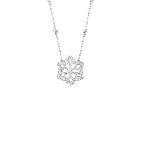 Boucheron Pensée De Diamants Medium Pendant - JPN00524 - CH Premier Jewelers