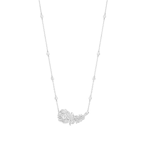 Boucheron Plume De Paon Pendant - Necklaces - CH Premier Jewelers