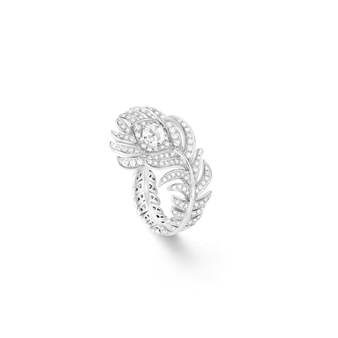 Boucheron Plume de Paon Small Ring - Rings - CH Premier Jewelers